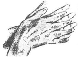 İki elin avucunu birbirine sürtme